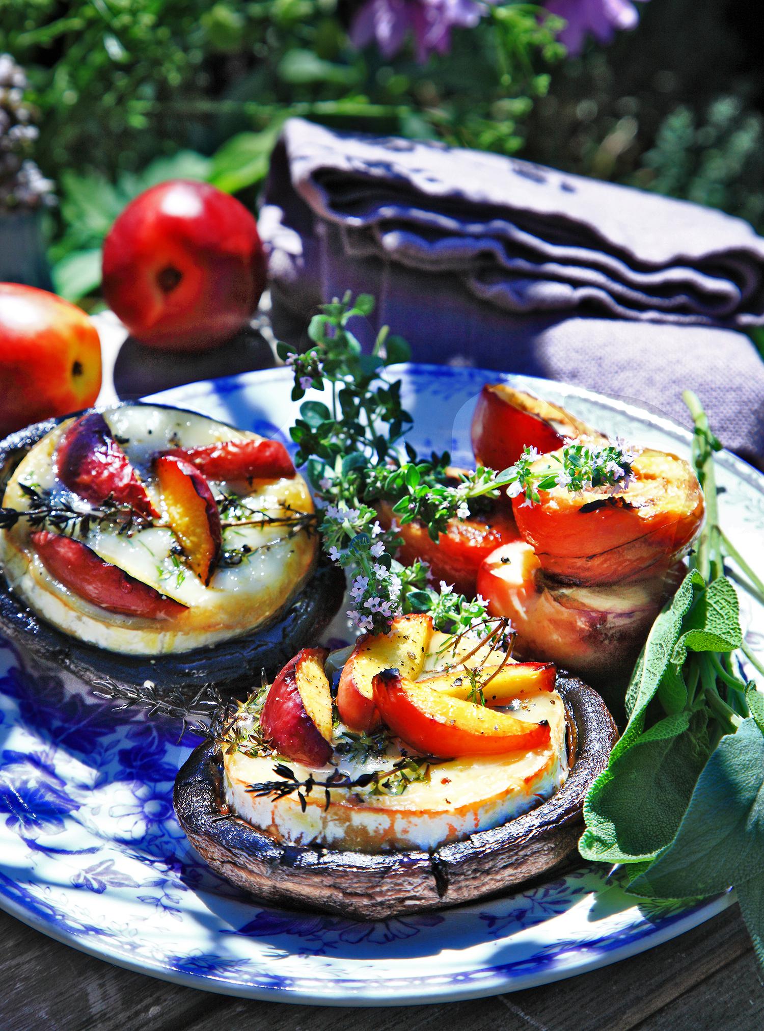 grillad portabello recept